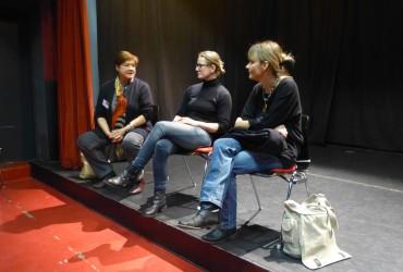 Die Infoveranstaltung zum Thema Theaterklassen in Bayern
